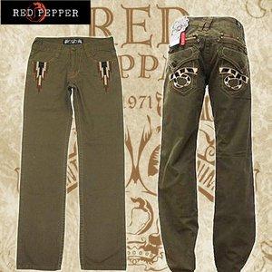 red pepper(レッドペッパー) メンズデニム ストレート #8918-7  28インチ