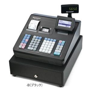 シャープ(SHARP) レジスター 本体 XE-A407ブラック【ロールペーパー10巻セット】