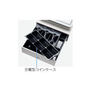 【送料無料】【業務用】シャープ(SHARP) レジスター 本体 XE-A407ブラック【ロールペーパー5巻セット】