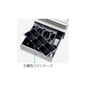 【送料無料】【業務用】シャープ(SHARP) レジスター 本体 XE-A417ブラック【ロールペーパー5巻セット】