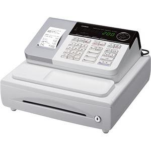 カシオ(CASIO)レジスター 本体 NL-200(SE-S20同等品) ホワイト【ロールペーパー30巻セット】