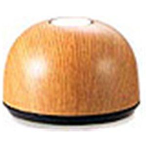 【送信機12台セット】 呼び出し機ベルスター 木目色セット 【ライトオーク丸型】  - 拡大画像