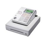 カシオ レジスター TE-300 ホワイト ロールペーパー5巻、PC接続ケーブルパターンAセット