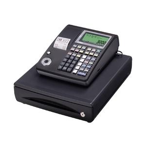 カシオ レジスター TE-300 ブラック【ロールペーパー10巻、PC接続ケーブルパターンBセット】