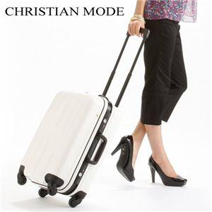 CHRISTIAN MODE(クリスチャンモード) TSAロック付 20インチハードキャリー ホワイト画像1