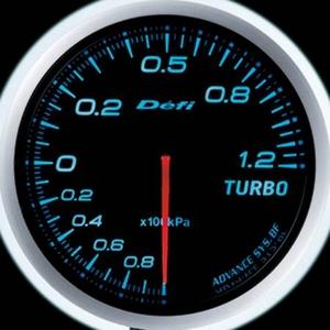 Defi-Link Meter ADVANCE BF (デフィー リンクメーター アドバンスBF) ターボ計(MAX120kPa)φ60 ブルーモデル