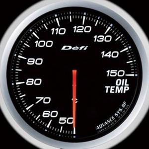 Defi-Link Meter ADVANCE BF (デフィー リンクメーター アドバンスBF) 油温計 60φ ホワイトモデル
