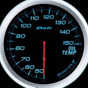 Defi-Link Meter ADVANCE BF (デフィー リンクメーター アドバンスBF) 油温計 60φ ブルーモデル