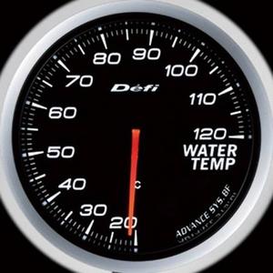 Defi-Link Meter ADVANCE BF (デフィー リンクメーター アドバンスBF) 水温計 60φ ホワイトモデル
