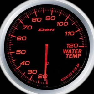 Defi-Link Meter ADVANCE BF (デフィー リンクメーター アドバンスBF) 水温計 60φ アンバーレッドモデル
