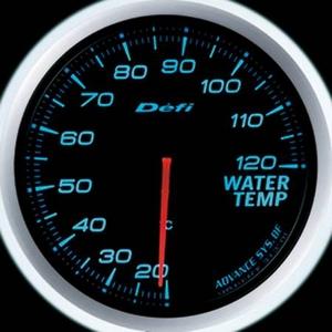 Defi-Link Meter ADVANCE BF (デフィー リンクメーター アドバンスBF) 水温計 60φ ブルーモデル