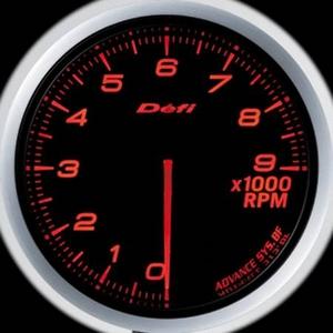 Defi-Link Meter ADVANCE BF (デフィー リンクメーター アドバンスBF) タコメーター 60φ アンバーレッドモデル