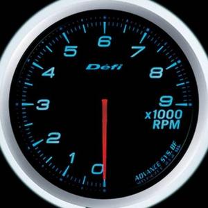 Defi-Link Meter ADVANCE BF (デフィー リンクメーター アドバンスBF) タコメーター 60φ ブルーモデル