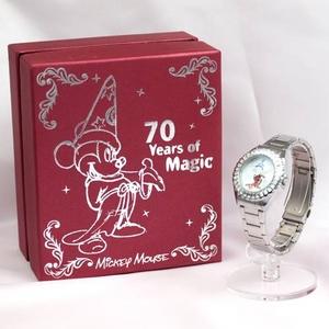 【映画ファンタジア ディズニー公開70周年記念限定ウォッチ】ミッキーマウス腕時計 MJMC-005 【オリジナルBOX入り】 - 拡大画像