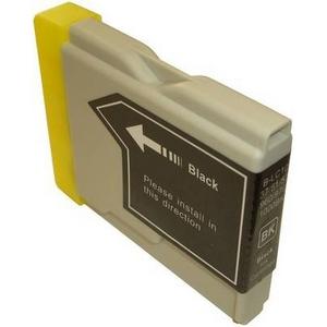 【ブラザー工業(BROTHER)対応】LC10 互換インクカートリッジ ブラック(20ml) 【5個セット】 h02