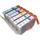 【Canon対応】BCI-7eBK/C/M/Y/PC/PM(ICチップ付) 互換インクカートリッジ 6色パック 【2セット】 - 縮小画像2