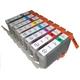 【Canon対応】BCI-7eBK/C/M/Y/PC/PM/R/G(ICチップ付) 互換インクカートリッジ 8色パック 【2セット】 - 縮小画像2