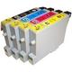 【EPSON対応】IC42-BK/C/M/Y (ICチップ付)互換インクカートリッジ 4色パック 【2セット】 - 縮小画像2