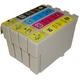 【EPSON対応】IC50-BK/C/M/Y (ICチップ付)互換インクカートリッジ 4色パック 【2セット】 - 縮小画像2