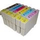 【EPSON対応】IC50-BK/C/M/Y/LC/LM (ICチップ付)互換インクカートリッジ 6色パック 【5セット】 - 縮小画像2