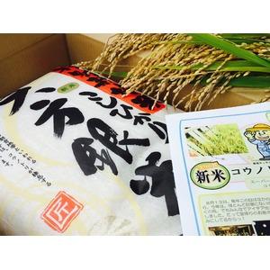 【平成29年産新米】コウノトリ舞い降りるコシヒカリ 六方銀米 30kg(10kg玄米×3)