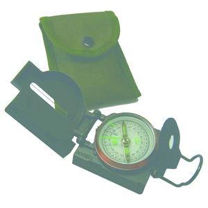 陸上自衛隊で採用 レンザティックコンパスセット(本体 専用ケース ストラップ) 【10個入り】