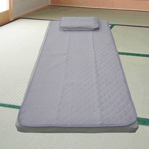 冷感コールド敷きパッド氷結シリーズ ロイヤルコールドパッド ダブルサイズ パープル