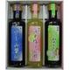 さしみ醤油&ゆず塩ぽん酢&ノンオイル和風ドレッシング 3種セット