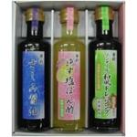 さしみ醤油&ゆず塩ぽん酢&ノンオイル和風ドレッシング 3種セットx2セット