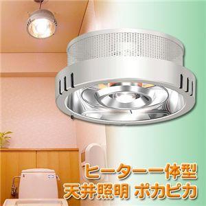 ヒーター一体型天井照明 ポカピカ - 拡大画像