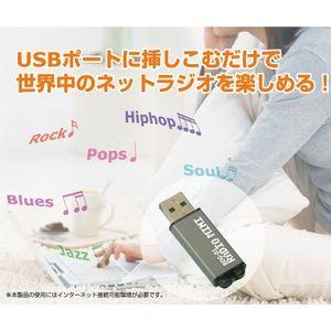 USB インターネット RADIO MINI - 拡大画像