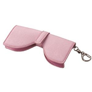 大人可愛いリボン型メガネホルダー(ピンク)