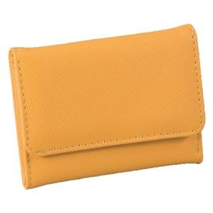 マルチに使える♪スマート手のひら財布(イエロー) h01