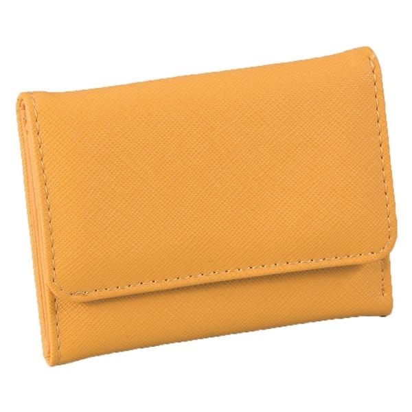 マルチに使える♪スマート手のひら財布(イエロー)f00