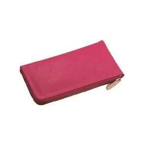 キュートなクラッチバッグL型ウォレット(ピンク) h01