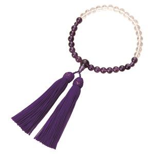 紫水晶御念珠(グラデーションタイプ)の商品画像