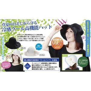 ファッション美人 クールインハット (ブラック) h02