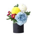 リモコン付き 仏花 ブルー×1個