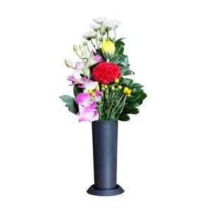 簡易墓用花立 供縁花【2個組】