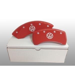 フォルクスワーゲン VW  ブレーキキャリパー カバー レッド