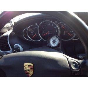 ポルシェ Porsche996 ターボ、GT2 油温計&バキューム &ターボブースト計 キット - シルバー