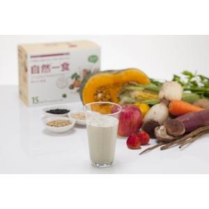 バランス栄養食 自然一食 15袋セット シェーカー付 - 拡大画像