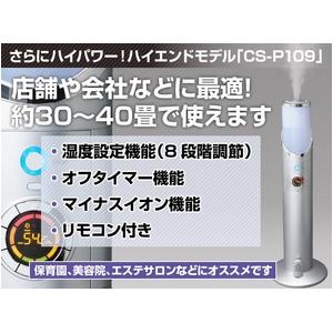 【業務用や広い空間に】殺菌・除菌ドライミスト発生器 『エリアクリン』CS-P109 ★『ディゾルバウォーター』5L付  - 拡大画像