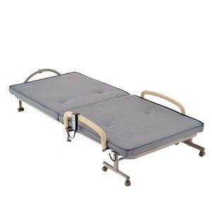 ATEX(アテックス) 折りたたみベッド 収納式電動リクライニングベッド AX-B551E