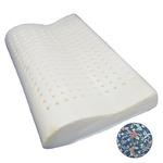低反発枕/ピロー 【首フィット】 洗えるカバー付き(フラワーガーデン)
