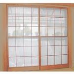 【2枚入り】 150x200cm 障子に貼るレース 花粉をキャッチし適度に光を通す 日本製の画像
