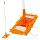 マイクロファイバー フロアモップセット オレンジ - 縮小画像1