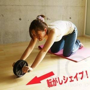 【カラーお任せ】 腹筋ローラー アブスライダー - 拡大画像