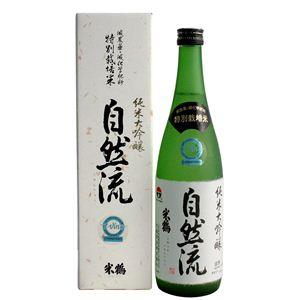 米鶴(よねづる) 純米大吟醸 自然流(じねんりゅう) 720ml - 拡大画像