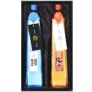 日栄 清酒・梅酒セット 「古都のかおり」 KK-50 - 拡大画像